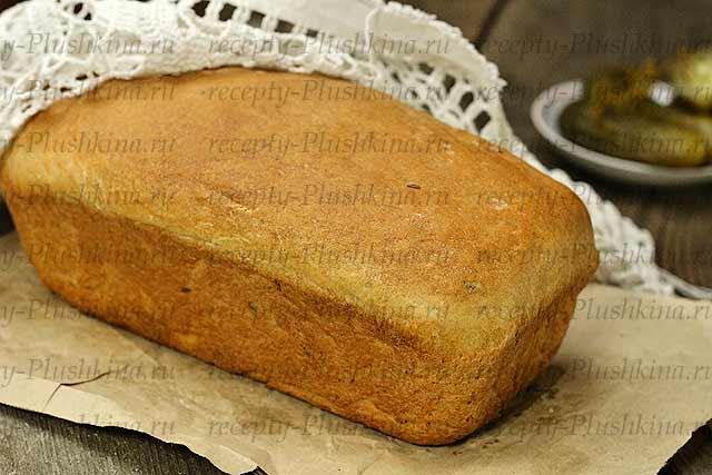 Домашний хлеб с тмином в духовке