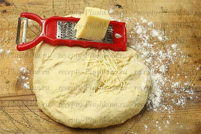 сыр и тесто