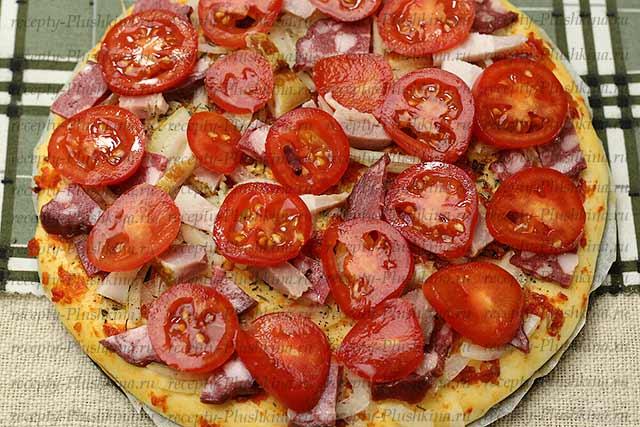 пицца в духовке