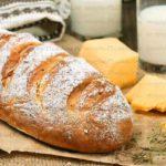 хлеб на кефире без дрожжей в духовке