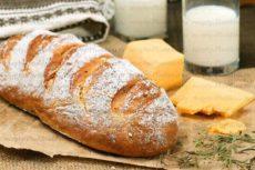 Простой рецепт хлеба на кефире без дрожжей в духовке