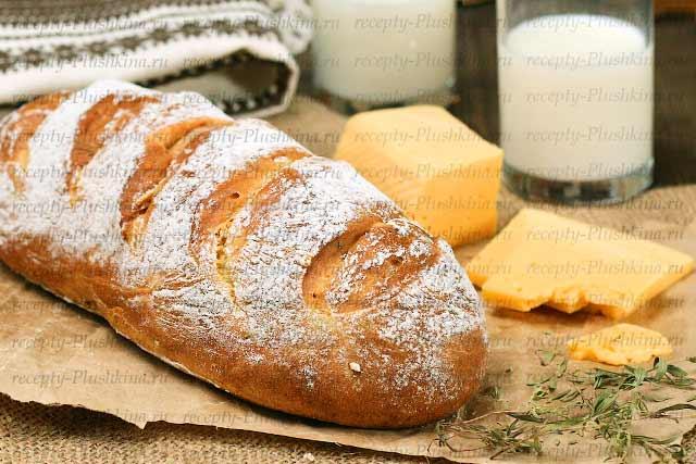 Рецепты хлеба без дрожжей фото