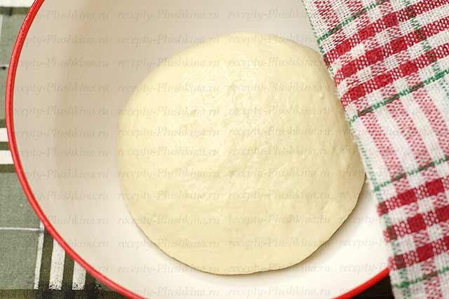 тесто для новогодней пиццы