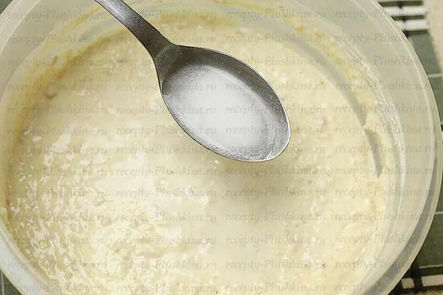 рецепт оладьев на кефире