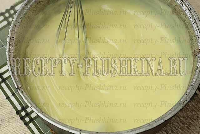 кипячение крема