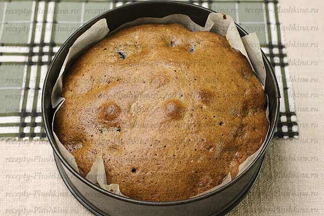 выпекаем простой пирог с вишней