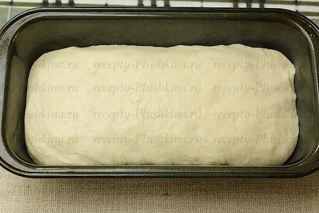пшеничный заварной хлеб