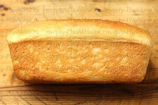 заварной хлеб в духовке рецепт
