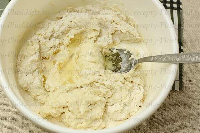 тесто для заварного хлеба