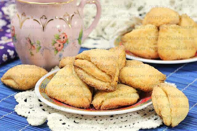 Печенье из творога рецепт с пошагово в духовке без масла