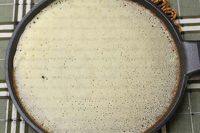 тонкие блины на кефире