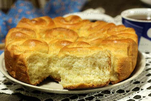 булочки на кефире в духовке готовы