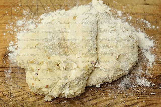 тесто для лукового хлеба