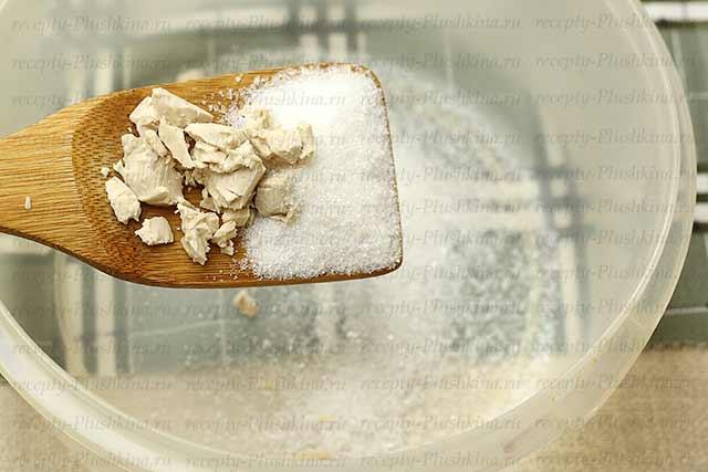 ингредиенты для оладьев на молоке