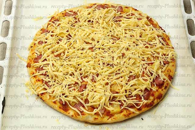 как приготовить гавайскую пиццу в домашних условиях