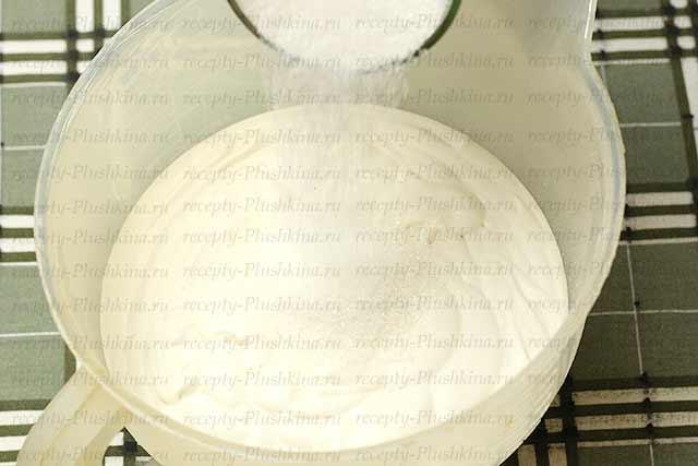 сметанный крем для медового торта