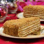 медовый торт со сметанным кремом рецепт