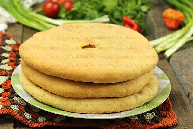 рецепт осетинского пирога с капустой