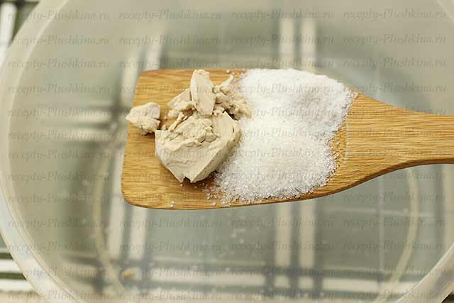 готовим тесто для осетинских пирогов