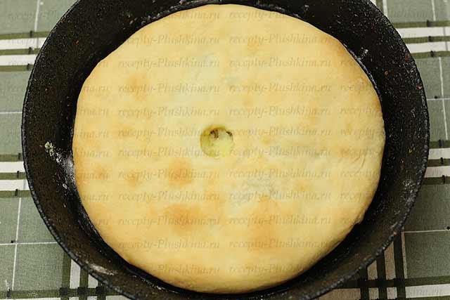 вкусные осетинские пироги