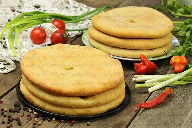 Осетинские пироги с капустой и сыром рецепты с фото пошагово