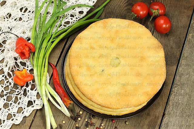 осетинские пироги рецепты с фото
