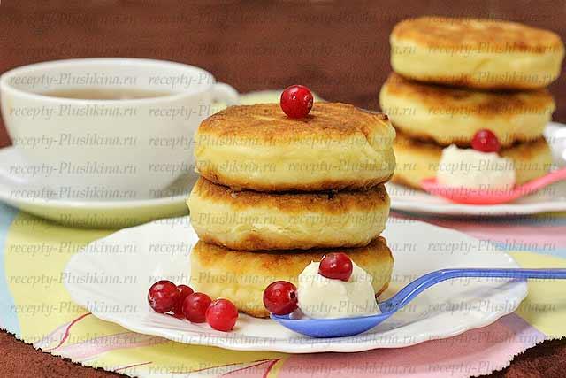 Сырники из творога - Пошаговый рецепт с фото Десерты 80