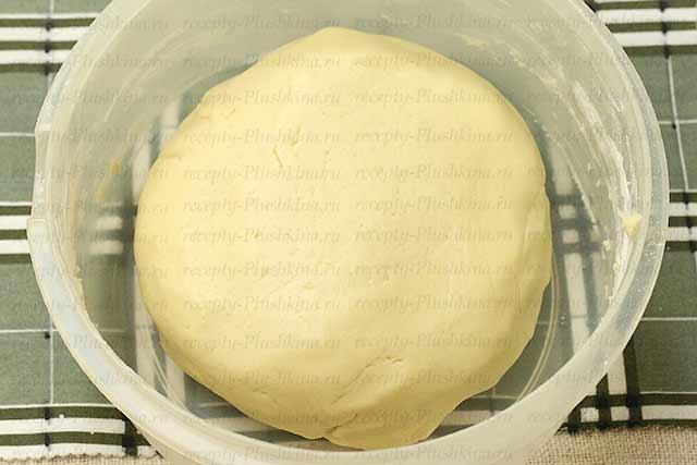песочное тесто для тертого пирога с вареньем