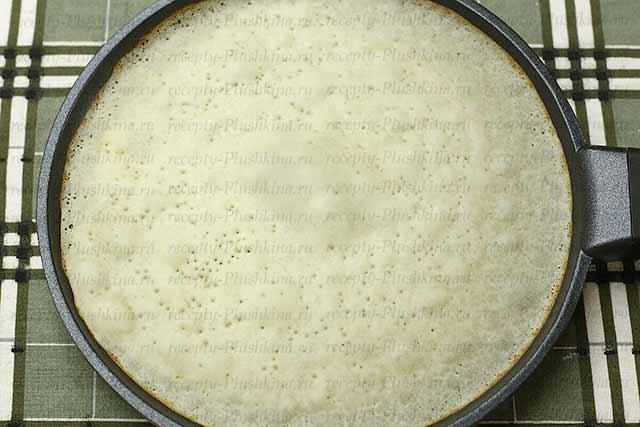 рецепт блинов на воде без яиц