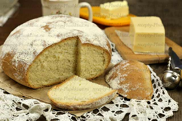 Испечь хлеб дома в духовке
