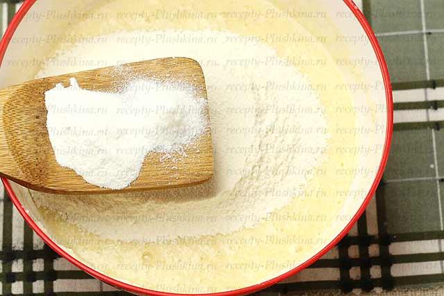 тесто для манника на кефире