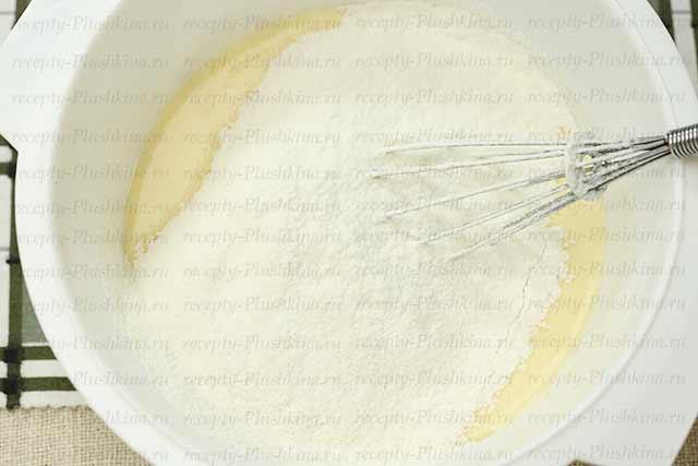 вкусные блины на кефире с кипятком