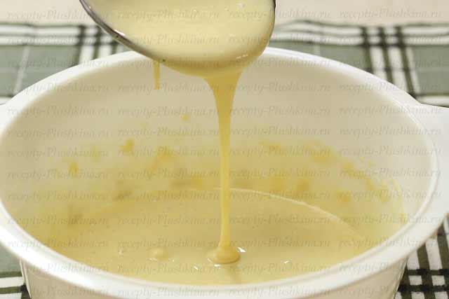 как сделать тесто для тонких блинов