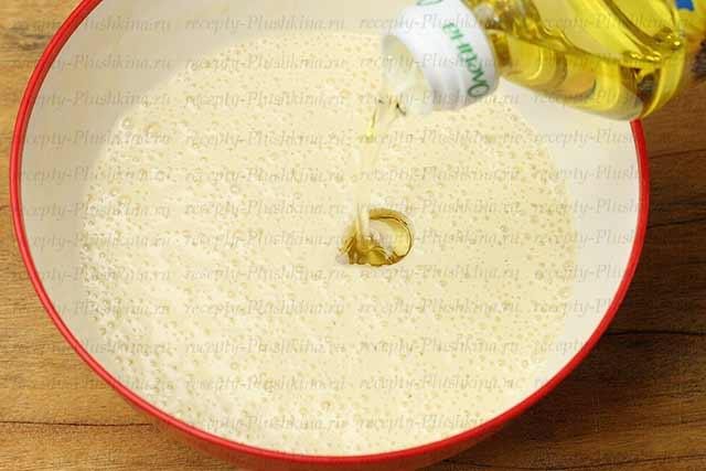 как испечь блины на кефире