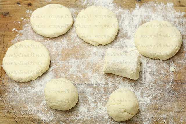 пошаговый рецепт сырников из творога