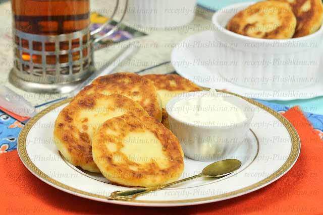 сырники классические рецепт на сковороде