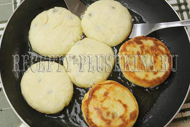 сырники с изюмом рецепт с фото