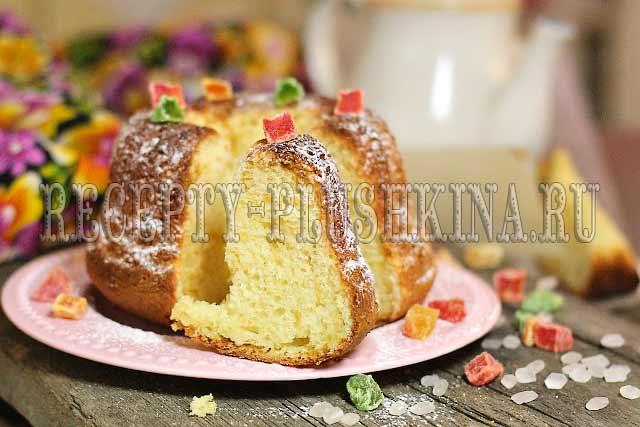 самый вкусный творожный кекс