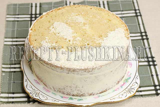рецепт простого и вкусного бисквитного торта