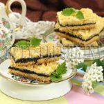 печенье с вареньем и тертым тестом сверху