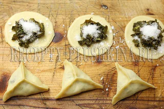 пирожки с щавелем рецепт с фото