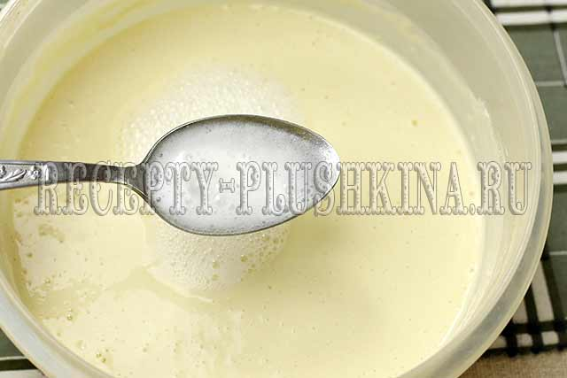 тесто для блинов с содой