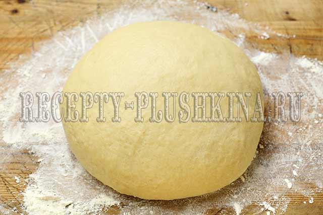 дрожжевое тесто для сахарных булочек