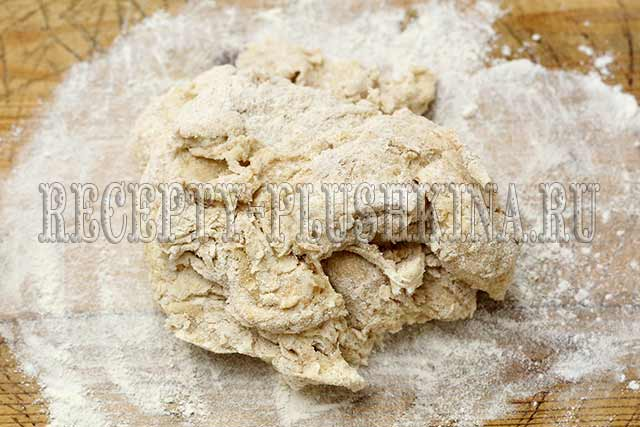 тесто для цельнозернового хлеба