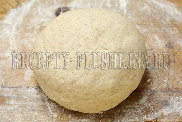 как сделать тесто для хлеба с цельнозерновой мукой