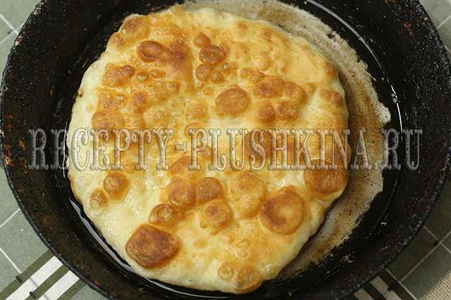 лепешки на кефире на сковороде рецепт с фото