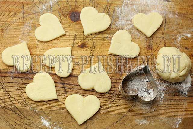 приготовление печенья из творога
