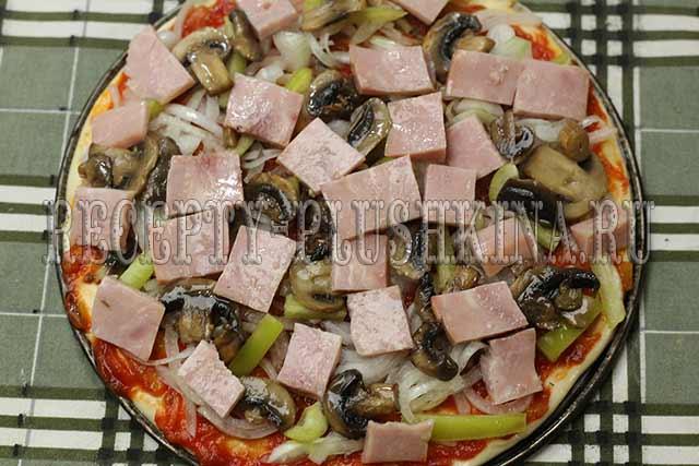 кефирная пицца