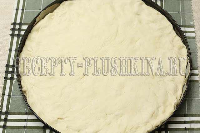 рецепт пиццы на пышном тесте