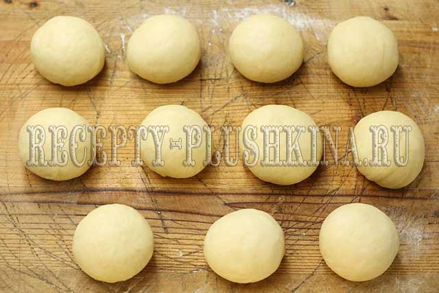 приготовление пирожков с капустой и яйцом